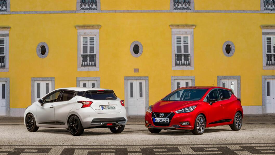 NYE MICRA: Nissan utvider småbilutvalget med tre nye motorvarianter på sin Micra.