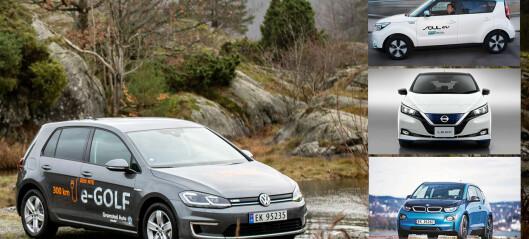 Økte priser på populære elbiler