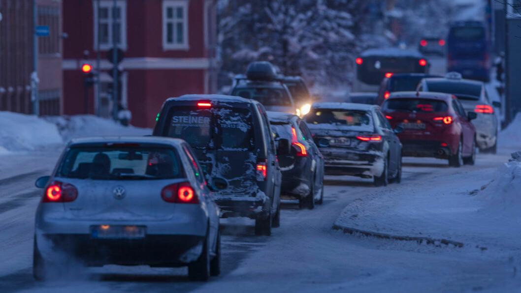 REKKEVIDDEANGST: Hvor langt kommer jeg? 41 prosent kortere, hvis det er kaldt og du har varmeapparatet på, i følge ny rapport. Foto: Geir Olsen