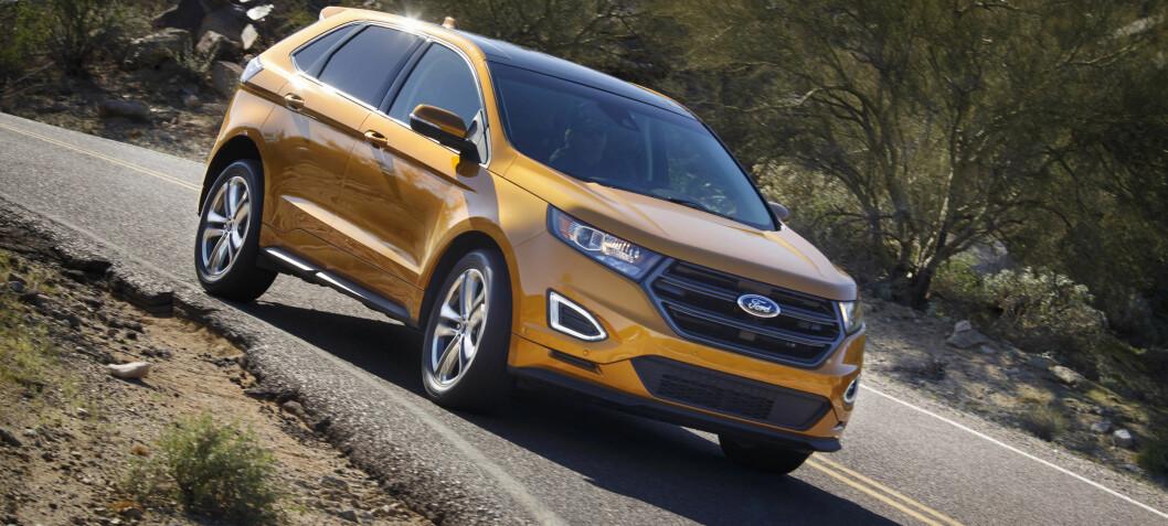 Åtte ting du må vite om Ford nye luksus-SUV