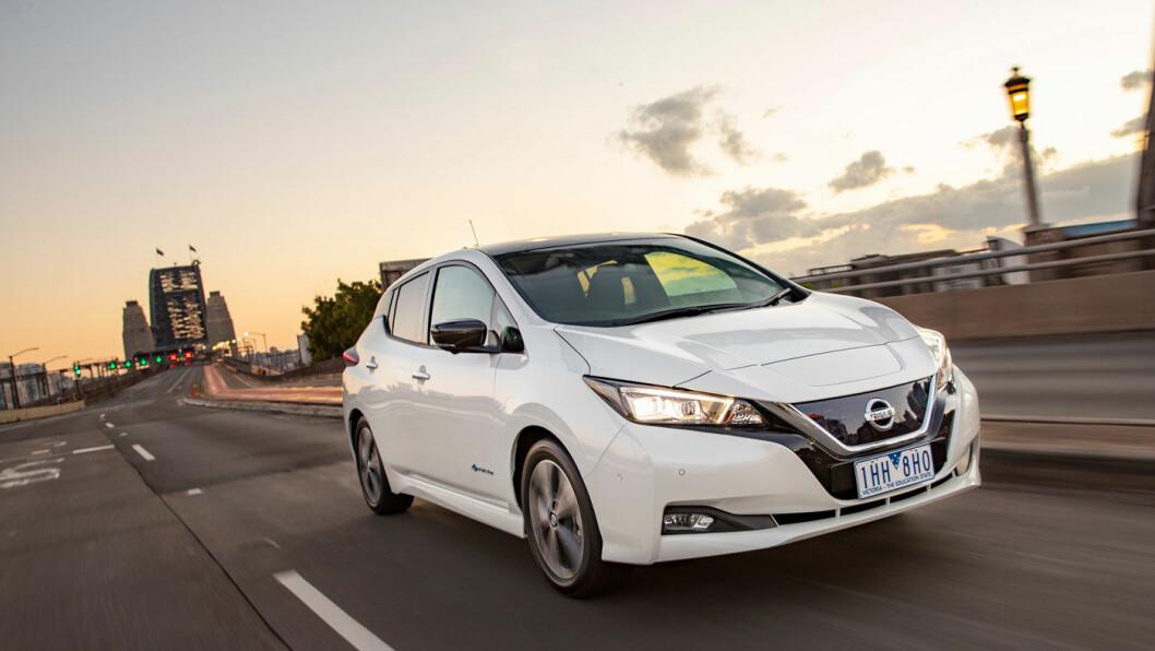 POPULÆR: Nissan solgte over 40.000 eksemplarer av Leaf i 2018.