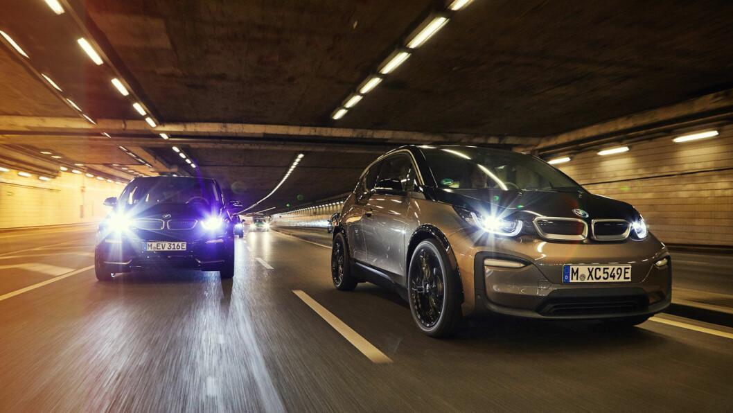 POPULÆR: BMW i3 og i3s har vært blant Norges mest solgte elbiler de siste årene. Foto: BMW