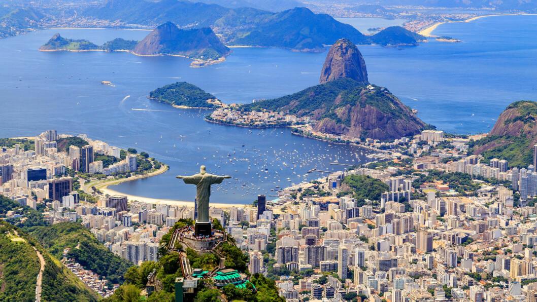 SPEKTAKULÆRE RIO DE JANEIRO: En helt særegen storby med fantastiske strender, Sukkertoppen og den ikoniske Kristusstatuen som troner på toppen av Corcovado-fjellet.