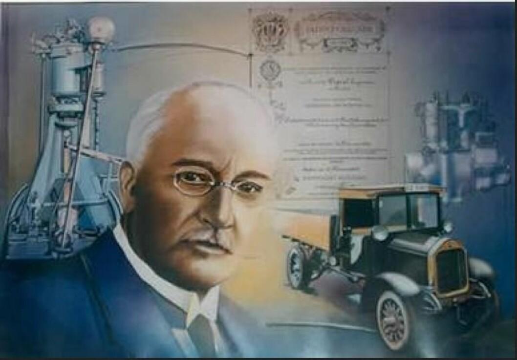 RUDOLF DIESEL: Rudolf Diesel oppfant dieselmotoren, som har effektiv forbrenning, men store utslipp av NOx og sot.