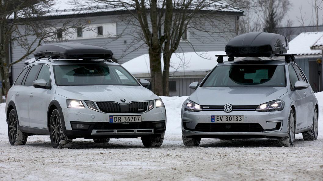 TAKBOKS TAPPER: –Mange kjører med takboksen hele året, og det er greit å være klar over at det sluker ekstra drivstoff og strøm, sier Nils Sødal i NAF.