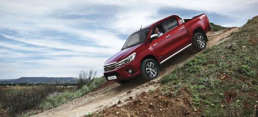 Barskere, større og gjerrigere Toyota Hilux