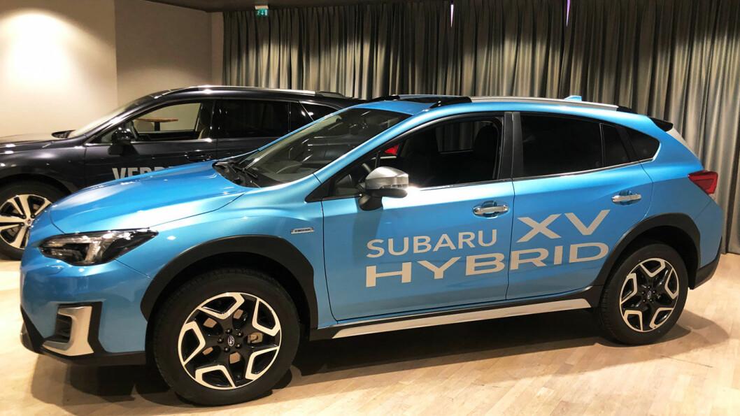 BATTERI: Subaru XV kommer nå som mildhybrid.