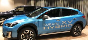 Subaru med første støt