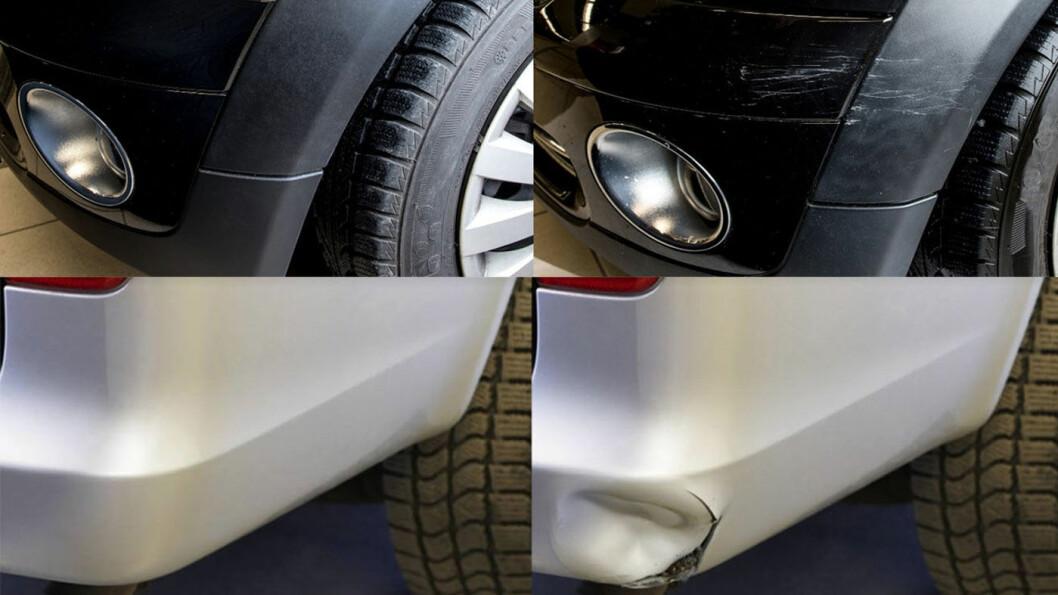 BILLIGERE REPARASJONER: Med reparasjonsmetoden smart repair trenger du ikke erstatte delene. Foto: MPS Micropaint