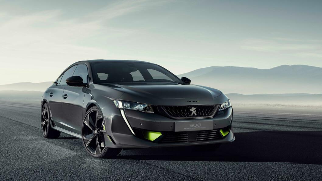 OG NÅ, SPORT: Peugeot Sport Enginereed 508 vises i Genève.