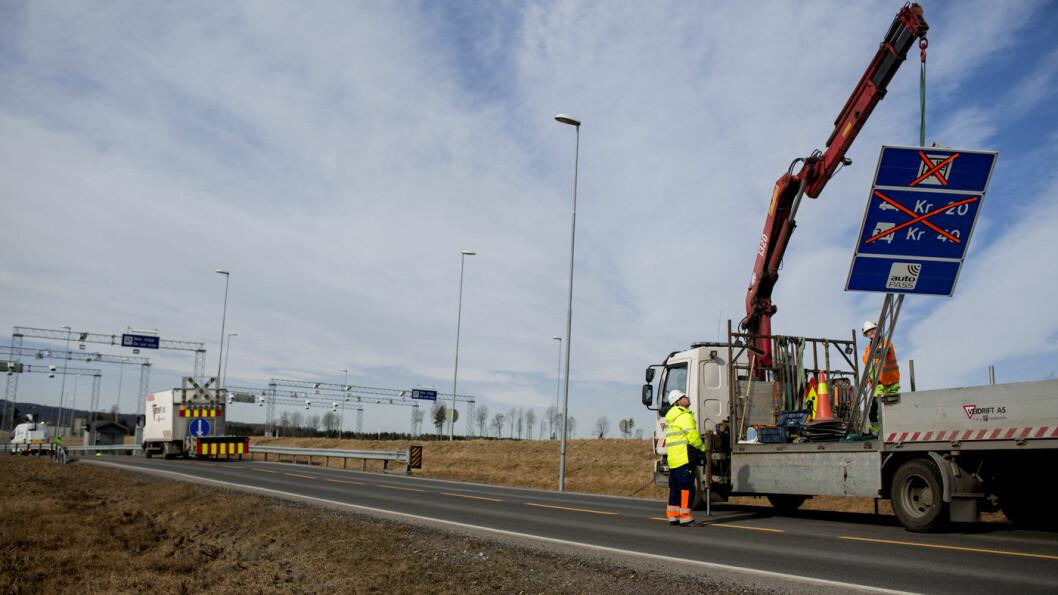 TIL ETTERFØLGELSE: På 19 av veiprosjektene som nå bompengefinansieres er innbetalingene foran skjema, slik at bommene kan fjernes tidligere enn planlagt. Foto: Espen Røst