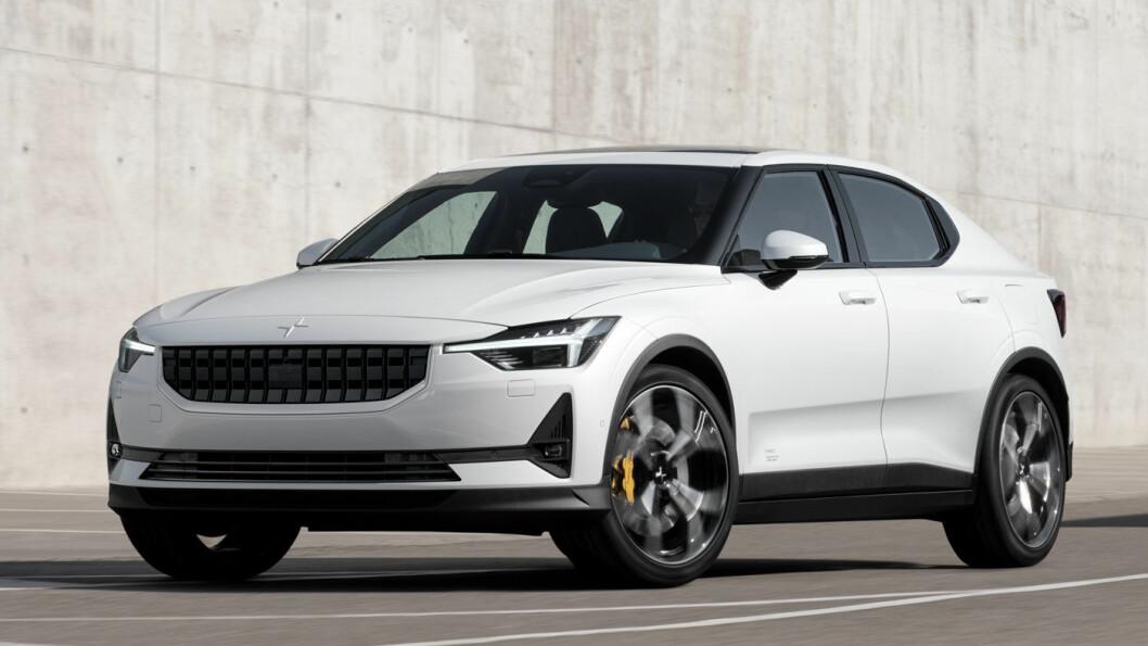 EN ANELSE VOLVO: Med Polestar 2 går Volvos elektriske underbruk i strupen på Tesla.