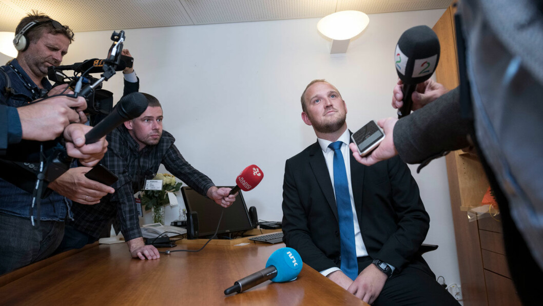 SVARER TIL UKA: Samferdselsminister Jon Georg Dale kommer med et nytt kostnadsestimat på Sotrasambandet i neste uke. Foto: Samferdselsdepartementet