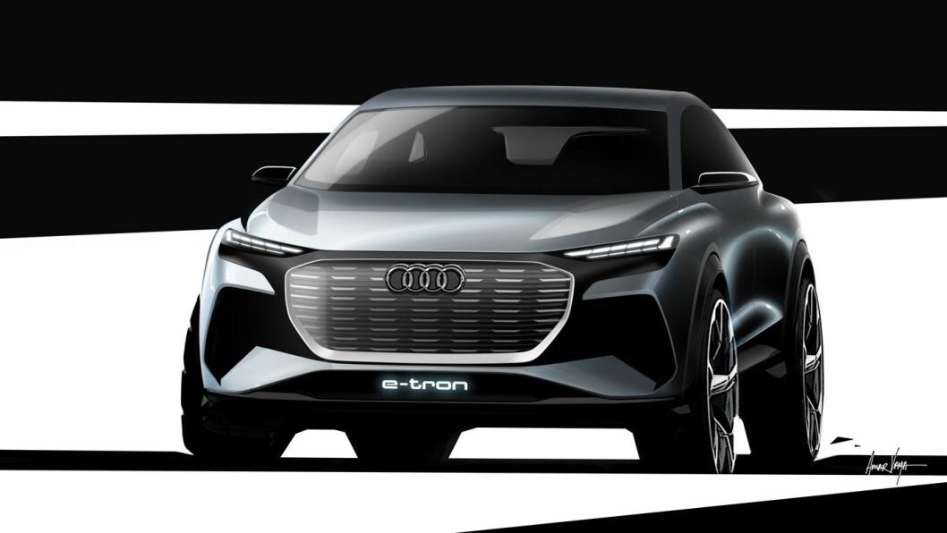 KONSEPT: Audi Q4 e-tron.
