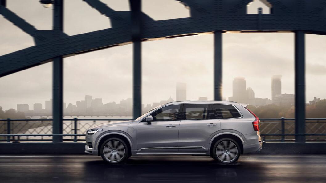 FORFINET: Volvos store SUV, XC90, har fått en facelift etter fire år på markedet. I endringene inngår også muligheten for en såkalt mild hybrid.