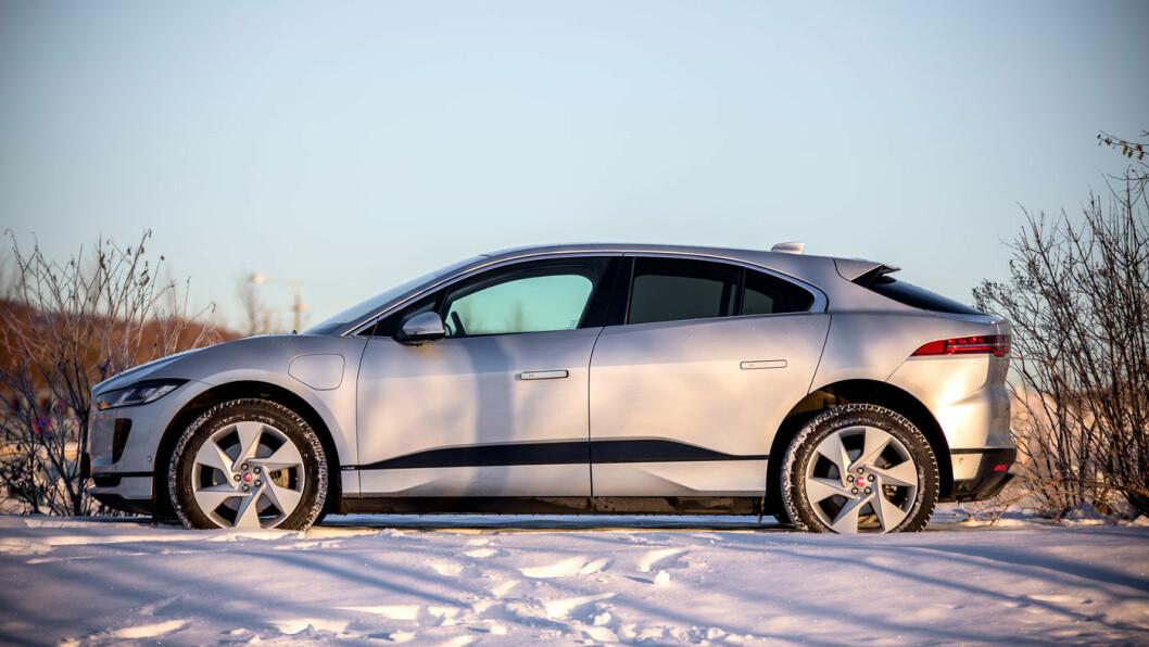 ÅRETS BIL I EUROPA 2019: Jaguar I-Pace ble stemt frem av en jury bestående av biljournalister fra europeiske motormagasiner. Foto: Tomm W. Christiansen