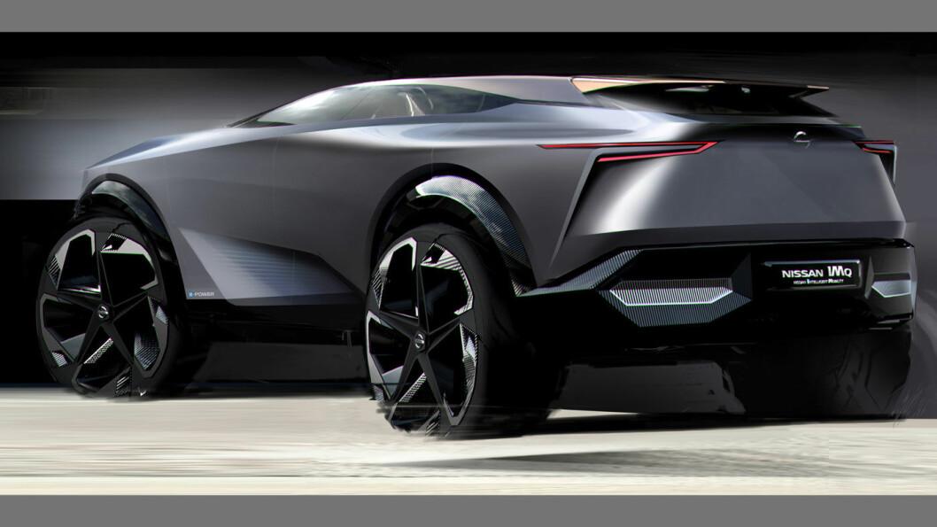 FREMTIDEN: Nissan viser en ny versjon av sitt IM-konsept.
