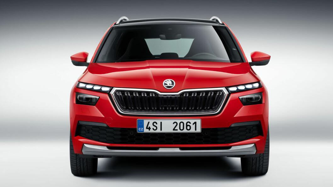EN-TO-TRE: Skoda lanserer sin tredje SUV, lille Kamiq.