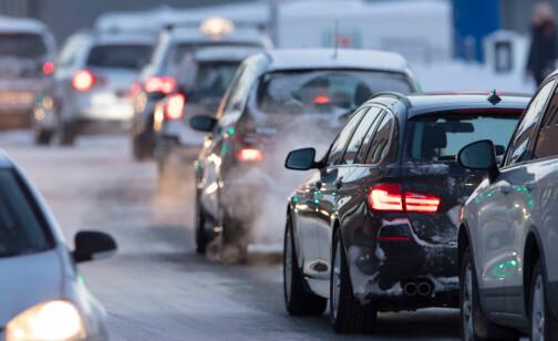 Nedgang i CO2-utslipp fra veitrafikken