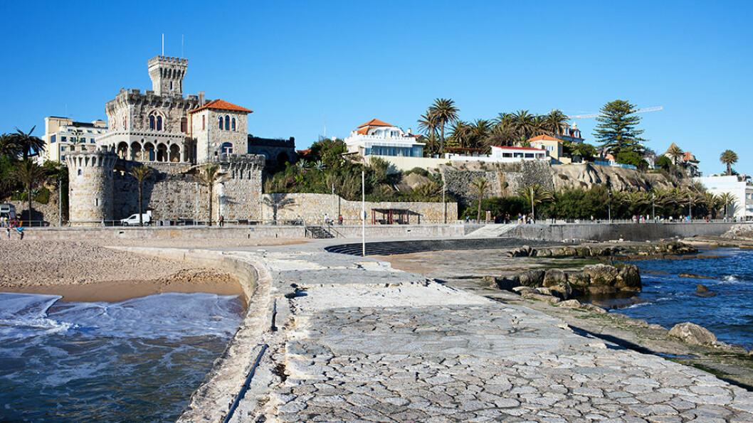 PORTUGALS RIVIERA: Estoril og nabobyen Cascais ligger med behagelig klima bare 30 minutter utenfor Lisboa.