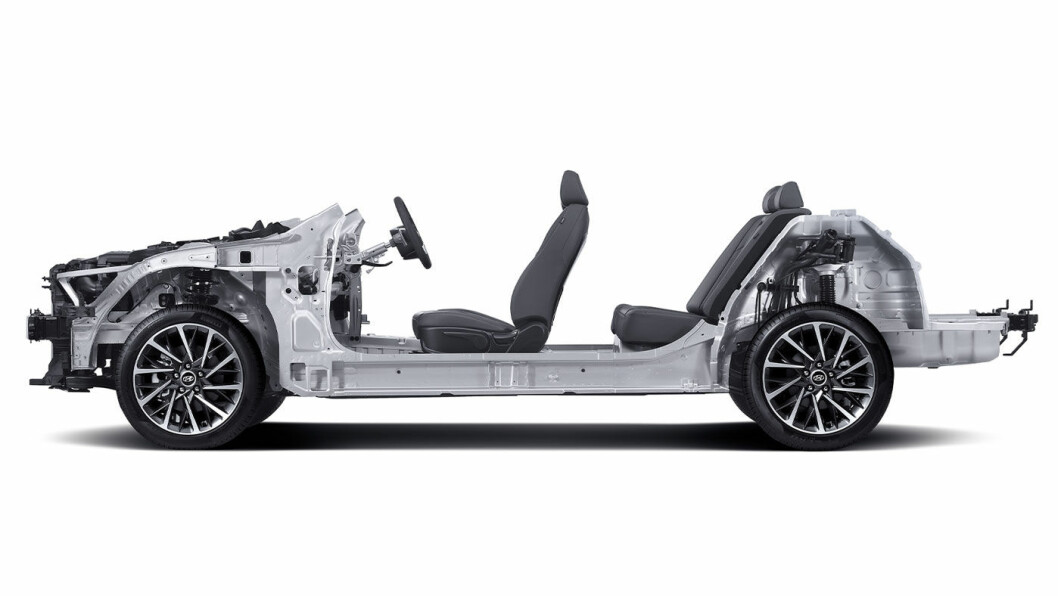 RAMMEVERK: Slik er plattform på neste generasjon elektriske biler fra Hyundai. Foto: Hyundai Motor