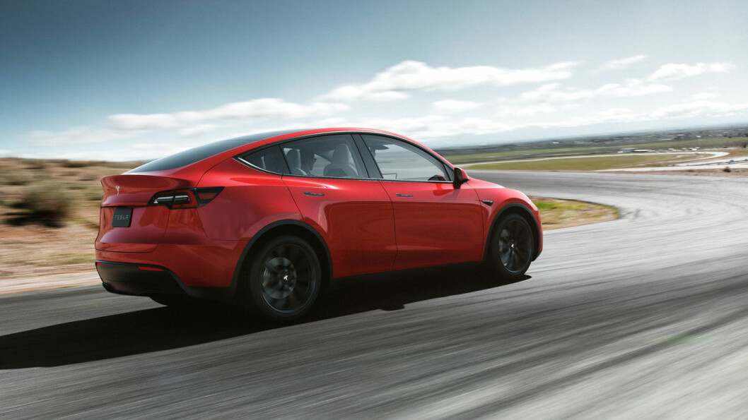 ØKER PRISENE: Tesla øker prisene for nye bestillinger med opptil nesten 12 prosent. Spesielt for den kommende Model Y avhenger mye av om du gjør endringer på reservasjonen du eventuelt har lagt inn, eller ikke. Foto: Tesla