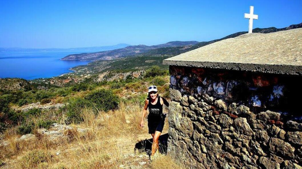 KOM I BEDRE FORM: Hanne Borg Finckenhagen tar deg med på en treningsuke i fjellene i Kardamyli i Hellas. Foto: Mona Langset/Scanpix