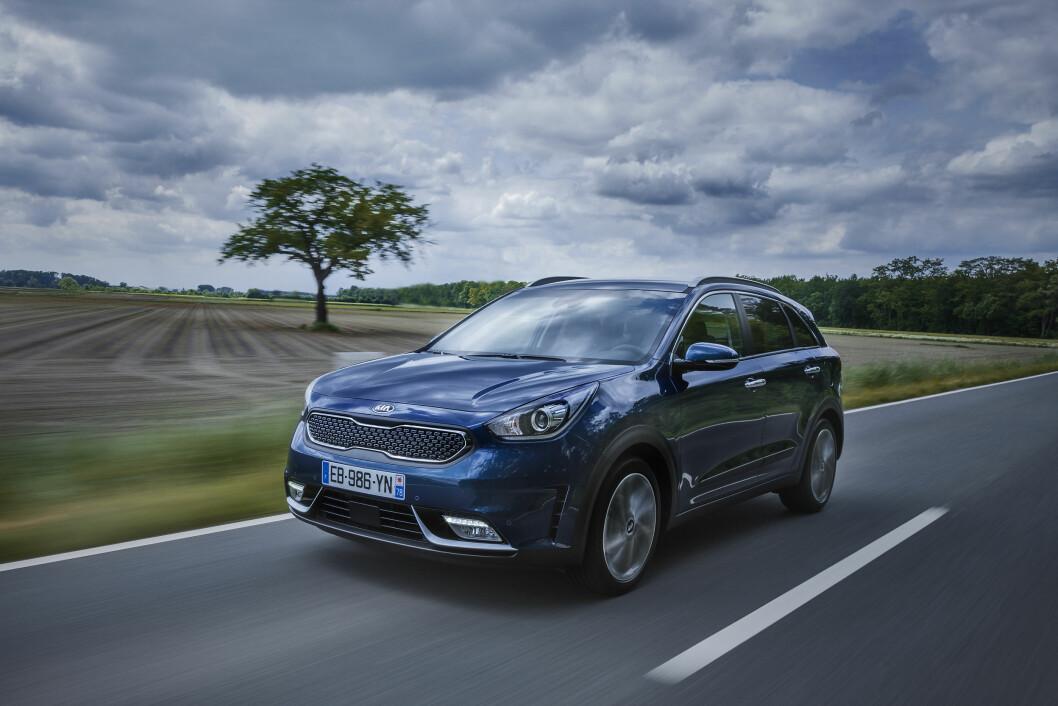 POPULÆR: Kia Niro er blant de populære bilene på markedet nå.