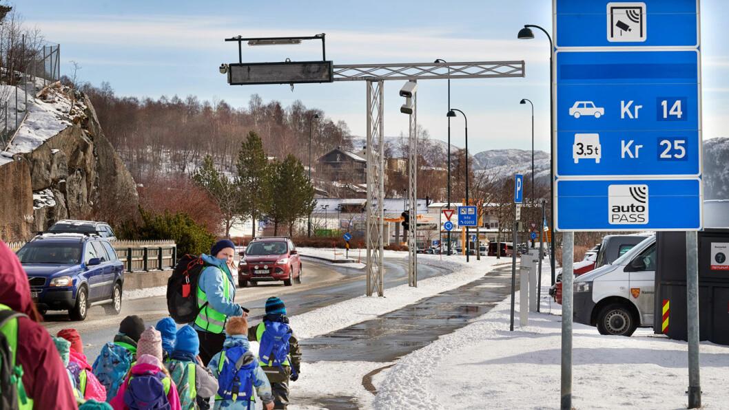 LEGGES NED: Søndag forsvinner denne bomstasjonen og tre andre rundt Namsos. Foto: Bjørn Tore Ness