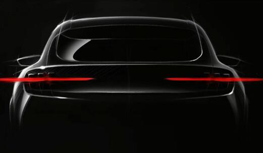 Lanserer Mustang-inspirert elbil med 600 km rekkevidde