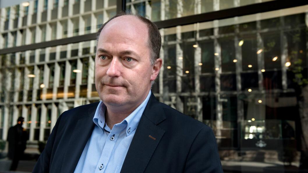 VIL KJEMPE MOT: Morten Stordalen, Fremskrittspartiet. Foto: Mimsy Møller