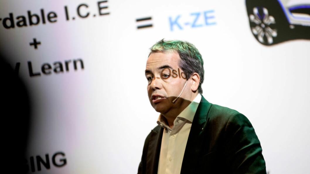 EL-SJEF: Eric Feunteun vil ha batteripriser som harmonerer bedre med Renaults DNA. Foto: Tomm W. Christiansen