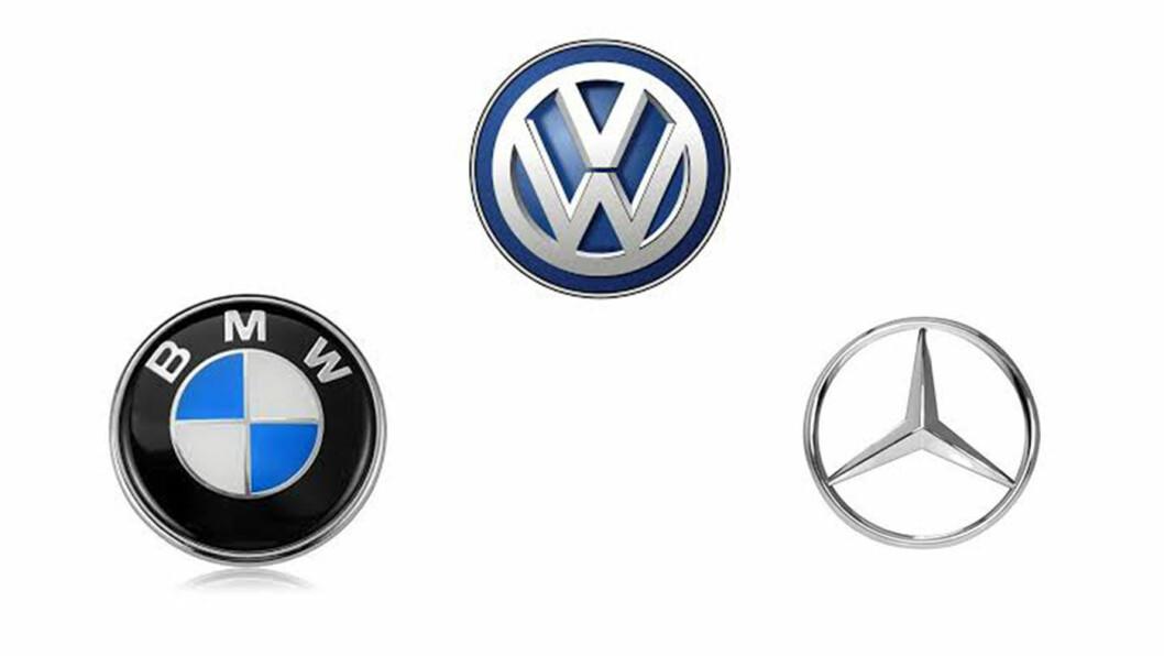 RISIKERER BØTER: De tre tyske bilgigantene VW, Daimler og BMW samarbeidet ulovlig for å hindre utvikling av teknologi som skulle rense utslipp, mener EU-kommisjonen.