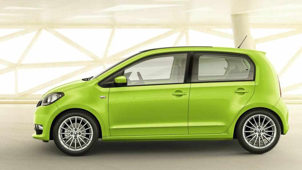 FØRST UT: Skodas første helelektriske modell, Skoda Citigo E, kan nå reserveres.