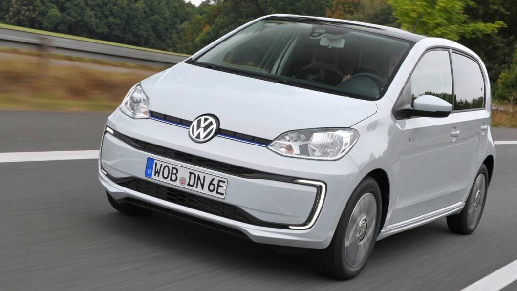 KOMMER LENGER: VW e-Up! dobler rekkevidden som 2020-modell til nærmere 260 kilometer. Foto: Volkswagen AG