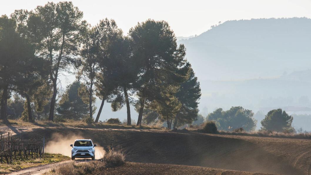 EUROVISJON: Den populære SUV'en RAV4 hjalp på Toyota-salget i første kvartal. Foto: Toyota Motor