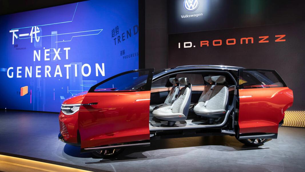 <b>REDNINGEN: </b>Volkswagens I.D.-serie – med blant SUV'en Roomzz – rulles ut de neste årene og skal ikke bare redde miljøet. Men også Volkswagens regnskaper.