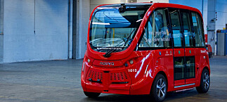 Selvkjørende buss laget trafikkfare hver dag