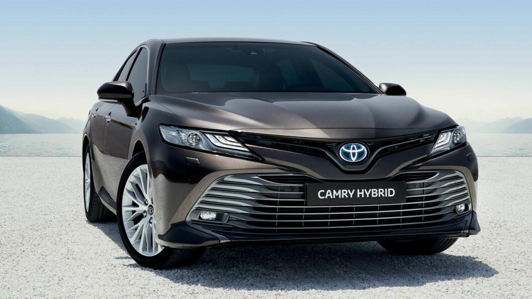 COMEBACK: Toyota Camry er solgt i mer enn 19 millioner eksemplarer i over 100 land, men har vært borte fra det norske markedet siden 2004. Nå gjør den comeback.
