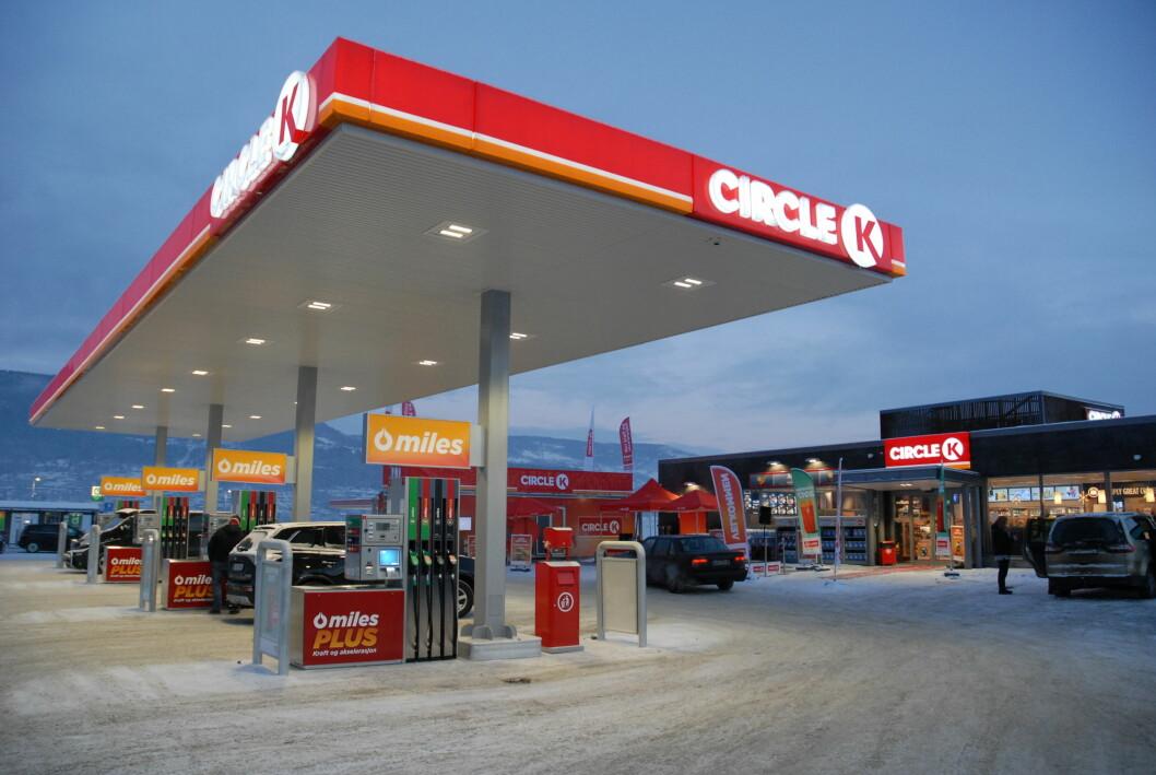 PÅ TOPP: Økt oljepris har drevet bensinprisen i været. Nå har den aldri vært høyere i Norge. Foto: Circle K