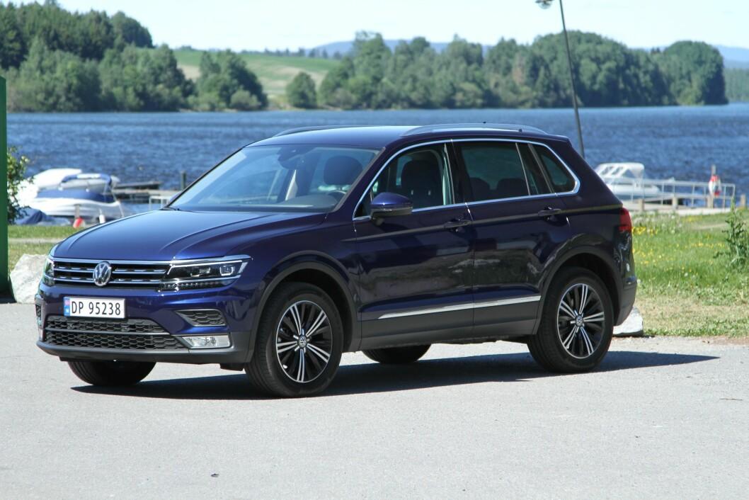 STØRRE: Nye VW Tiguan er større og stiligere, men det er mye mer som vil gjøre den til en suksess. Foto: Rune Korsvoll