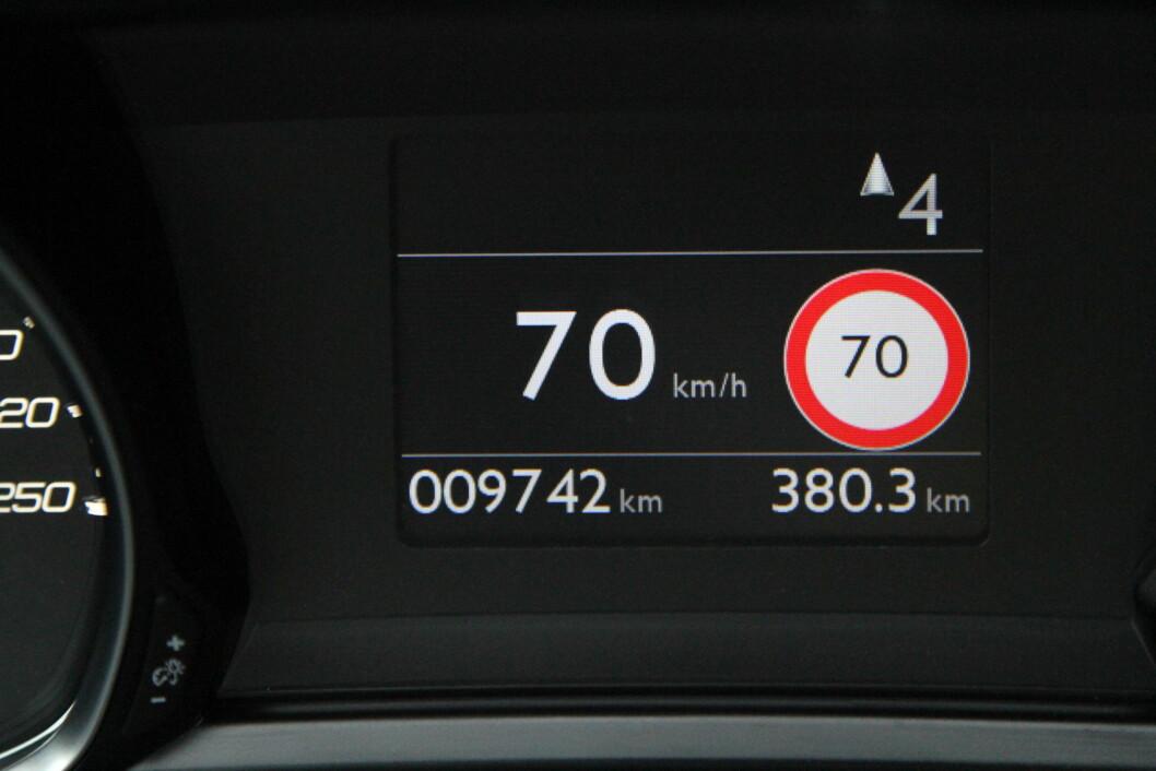 HOLDER FARTSGRENSEN: Første kvartal i 2016 tok UP nesten 4.000 færre bilførere for å bryte fartsgrensen enn i samme periode i fjor. Foto: Rune Korsvoll