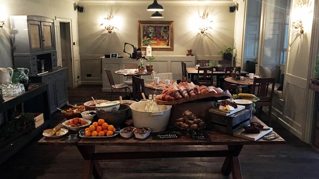 THE PIG: Fantastisk frokost med råvarer fra egen gård og kjøkkenhage og fra området rundt.