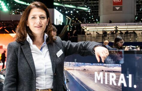 Har startet jobben med femte generasjon hydrogenbil