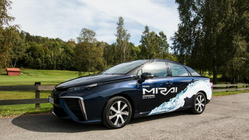 FØRSTE GENERASJON: Toyota Mirai.