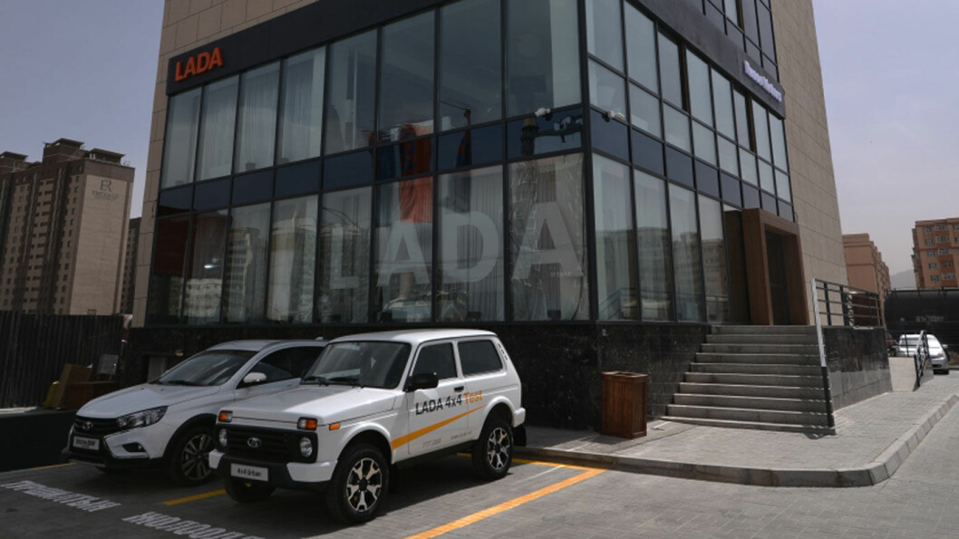 SHOWROOM: Lada utvider med ny butikk i den mongolske hovedstaden.