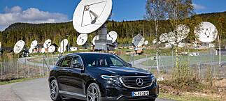Her er de første inntrykkene av Mercedes EQC