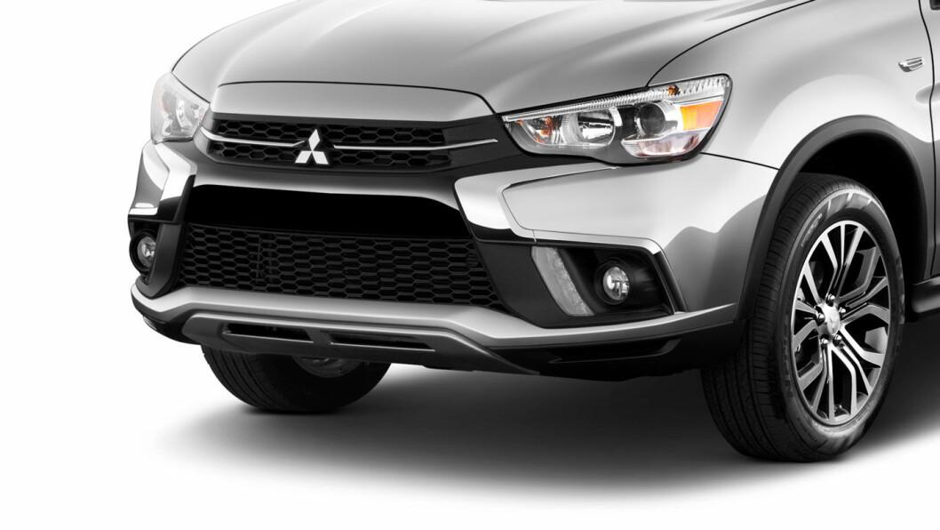 BEST SOM NY: Nybilgaranti har større verdi enn garanti fra bruktbilforhandler, fastslår Forbrukerklageutvalget, etter klage fra en kjøper av en brukt Mitsubishi Outlander. Her er fronten på 2019-utgaven av Outlander Sport.
