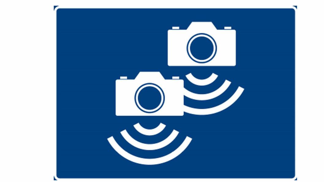 MISFORSTÅR: Her er skiltet mange av oss misforstår. Men to kameraer til tross, det er neppe fordi vi frykter dobbelt bot.