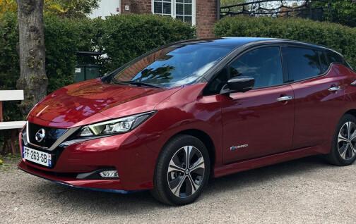 Nissan dumper prisen på Norges favoritt-elbil